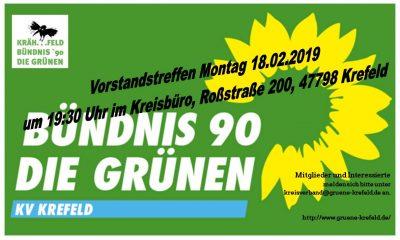 Vorstandstreffen @ Roßstraße 200, 47798 Krefeld