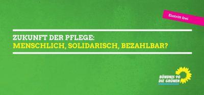 Zukunft der Pflege: Menschlich, solidarisch, bezahlbar? @ Der Paritätische (DPWV)