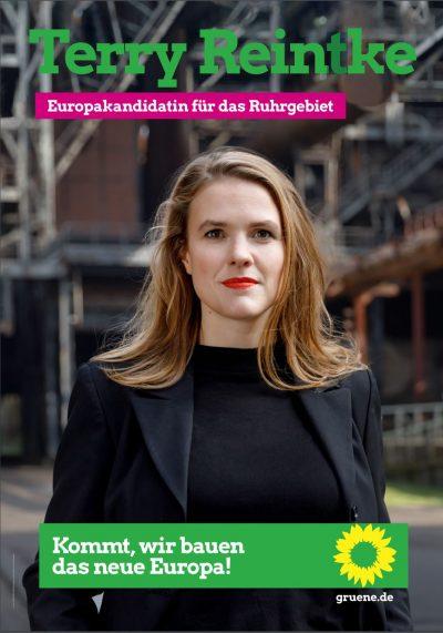 """Terry Reintke in Krefeld: """"Grüne Visionen für Europa"""" @ DPWV-Begegnungszentrum"""