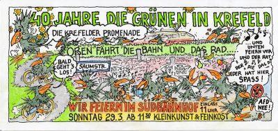 40 Jahre die Grünen in Krefeld