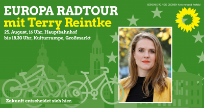 "Radtour ""Europa in Krefeld"" @ Hauptbahnhof Krefeld"