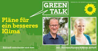 """Green Talk """"Pläne für ein besseres Klima"""" @ Südbahnhof"""