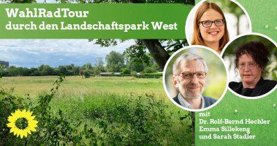 WahlRadTour durch den Landschaftspark West @ Hauserhof (Startpunkt)