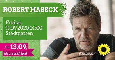 Robert Habeck kommt nach Krefeld! (+ Live-Stream!) @ Stadtgarten, Krefeld