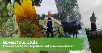 GreenTour Hüls: Themen der letzten Legislatur mit dem Rad erfahren @ Treffpunkt Steveshof